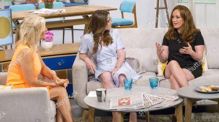 Editorial photo of 'Lorraine' ITV TV Programme, London, Britain - 13 Aug 2015