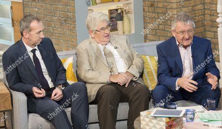 Mark Mason, Reg Youngman and Dr Chris Steele (l-r)