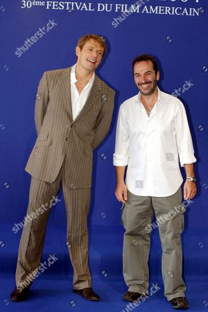 LAMBERT WILSON AND PITOF AT PHOTOCALL FOR 'CATWOMAN'