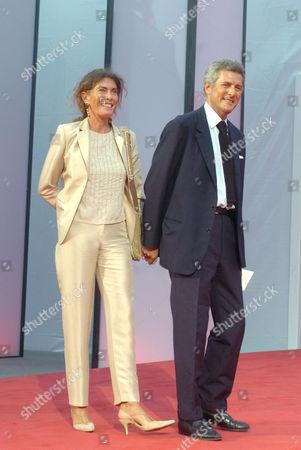 Rosy Greco and Alain Elkann
