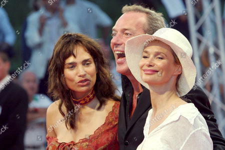 Stock Image of FREDERIQUE BEDOS, TONY GOMEZ AND MARIE SOPHIE L
