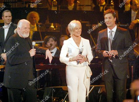 Jon Lord, Anni Frid Lyngstad and Marco Schreyl