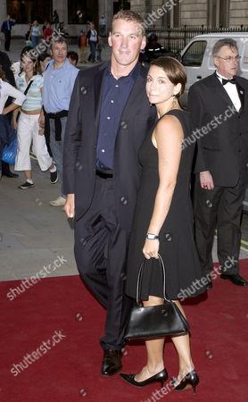 Matthew Pinsent and wife Demetra Koutsoukos