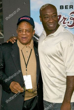 Willie Mays and Michael Clark Duncan