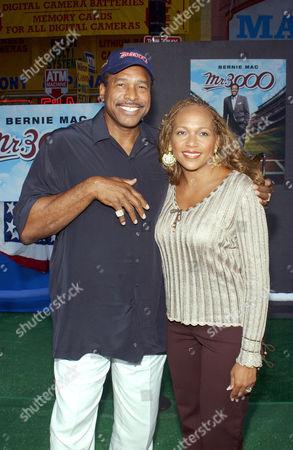 David Winfield and wife