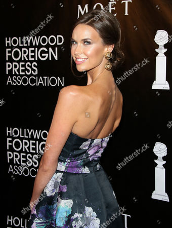 Editorial picture of HFPA Grants Banquet Dinner Red Carpet, Los Angeles, America - 13 Aug 2015