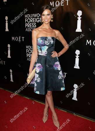 Editorial image of HFPA Grants Banquet Dinner Red Carpet, Los Angeles, America - 13 Aug 2015