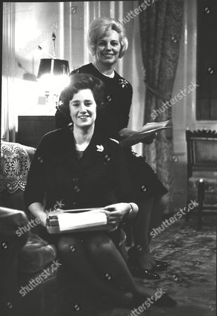 Vera Sugg (mrs David Benson) (blonde) Runs An Employment Agency With Her Personal Assistant Lady Katherine Courtenay. Box 0618 22072015 00066a.jpg.