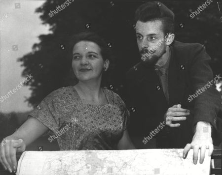 Editorial photo of John Macdonald & Wife Dorothy Macdonald Who Are Planning To Raft Kontiki Style Round The World. Box 0618 22072015 00113a.jpg.