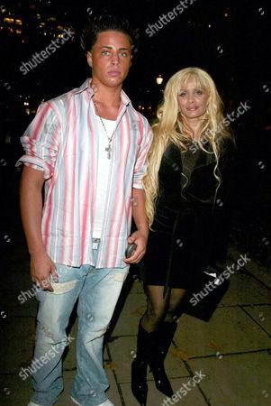 Victoria Gotti and son Carmine Gotti Vangelo