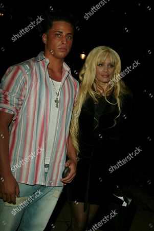 Victoria Gotti and son Carmine Agnello