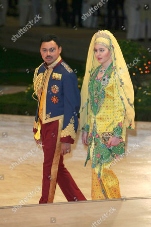Crown Prince of Brunei, Haji Al Muhtade Billah Darussalam and Princess Dayangku Sarah Binti Salleh Ab Rahaman