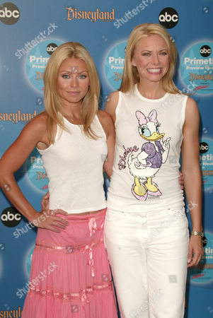 Kelly Ripa and Faith Ford