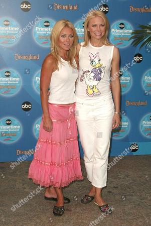 Kelly Ripa and Faith Ford