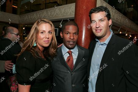 Mary Parent, Jamie Foxx & Scott Stuber