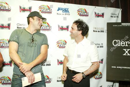 Ben Affleck and George Maloof (Palms Casino and Resort Owner)