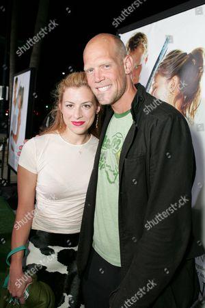 Murphy Jensen and wife