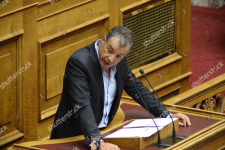 Stavros Theodorakis, chairman of To Potami