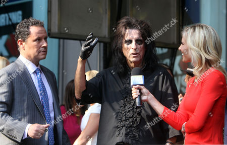Alice Cooper and Elisabeth Hasselbeck