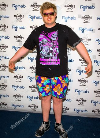Editorial photo of Flux Pavillion hosts Rehab Pool party, Las Vegas, America - 15 Aug 2015