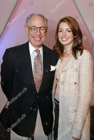 Stock Image of Chanel's Arie Kopelman and Anne Hathaway