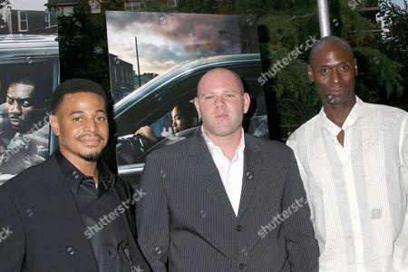 Corey Parker Robinson, Domenick Lombardozzi and Lance Reddick