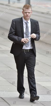 Jordan Higgins Son Of Late Snooker Player Alex Higgins Appears At Manchester Minshull St. Crown Court Charged With Robbery. (pleads Not Guilty. Next Hearing Oct 23rd With Trial Start Date March 25th 2015).  7/8/14.