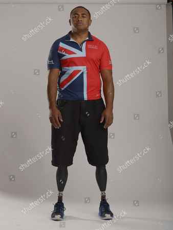Editorial image of Help For Heroes Portraits For The Invictus Games 2014 Derek Derenalagi.