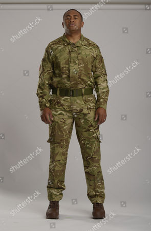 Editorial photo of Help For Heroes Portraits For The Invictus Games 2014 Derek Derenalagi.