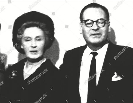 Stock Image of 2nd Baron Colwyn And Wife Lady Beryl Colwyn (3rd Wife). Box 0621 23072015 00409a.jpg.