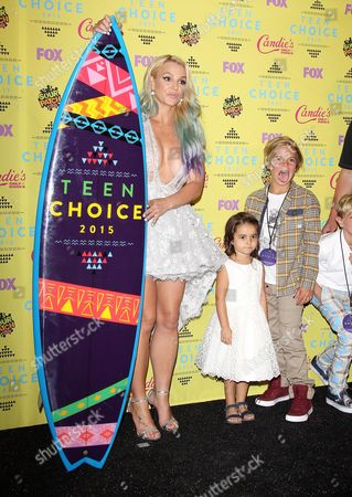 Editorial photo of Teen Choice Awards, Press Room, Los Angeles, America - 16 Aug 2015