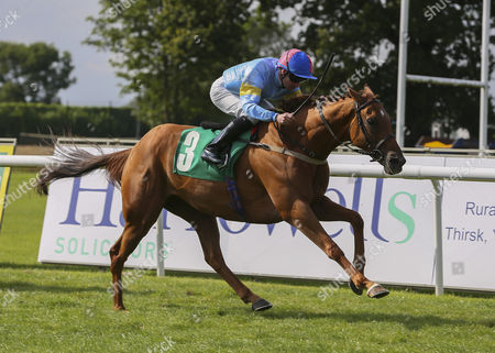 RONALD GEE and Fergal Lynch Win the Racing UK Subscriber Club Days Handicap for Trainer Jim Goldie THIRSK RACECOURSE