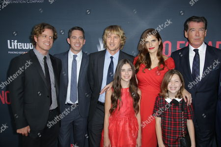 John Erick Dowdle, Drew Dowdle, Owen Wilson, Lake Bell and Pierce Brosnan, Sterling Jerins, Claire Geare
