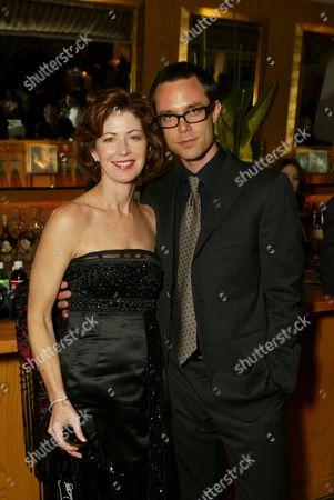 Dana Delany and boyfriend Davey Holmes