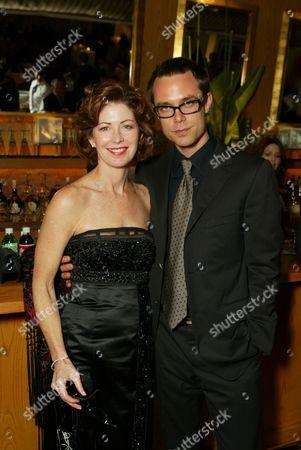 Stock Photo of Dana Delany and boyfriend Davey Holmes