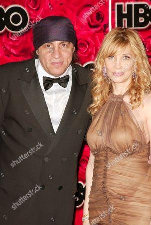 Stock Photo of Steve Van Zandt and Wife Maureen Santoro