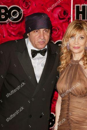 Stock Image of Steve Van Zandt and Wife Maureen Santoro