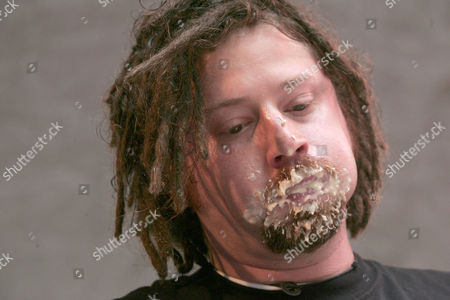 'Crazy Legs' Conti eats his way to a fourth place finish. The contest, sanctioned by the International Federation of Competitive Eaters, determines who can eat the most cannoli within a given 6 minute period. The winner will receive a Championship Belt and will be recognized as The Worlds Champion Cannoli Eater.