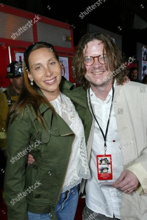 Jacqui Getty and Peter Getty