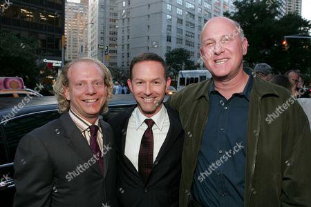 Bruce Cohen & Dan Jinks with Joseph Ruben.