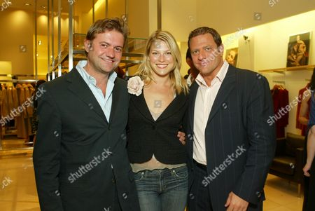Stock Picture of Guglielmo Melegari, Ali Larter and Paul Jowdy