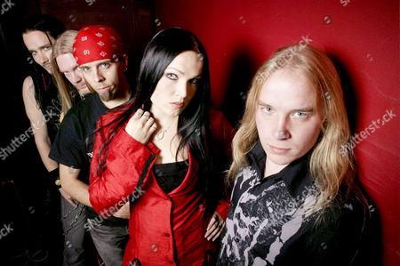 Tuomas Holopainen, Marco Hietala, Jukka Nevalainen, Tarja Turunen and Emppu Vuorinen