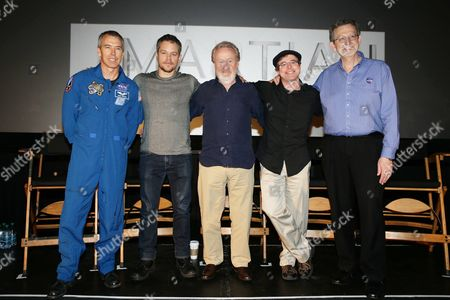 Drew Feustel, Matt Damon, Ridley Scott, Andy Weir, Dr. Jim Green