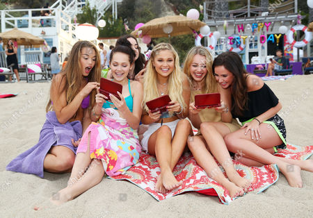 Stock Image of Paris MaryJo Berelc, Kelli Berglund, Sarah Gilman, Olivia Holt, Sadie Calvano, Ryan Newman
