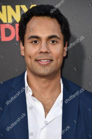 Editorial image of 'American Ultra' film premiere, Los Angeles, America - 18 Aug 2015