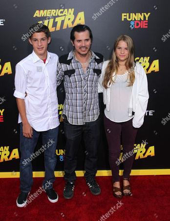 Lucas Leguizamo, John Leguizamo and Allegra Leguizamo