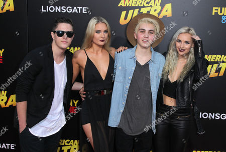 Sam Pottorff, Angelina Heart, Jarrad Labarrie and Jessica Carbo