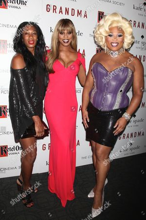 Mila Jam, Laverne Cox and Peppermint