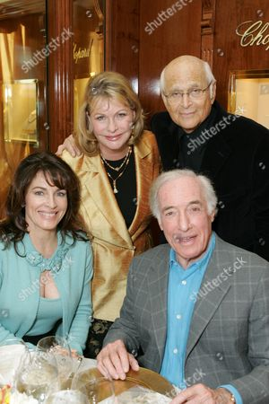 Cynthia Sikes Yorkin, Lyn Lear, Norman Lear, and Bud Yorkin