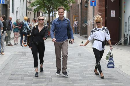 Editorial picture of 'Strictly Come Dancing' TV show rehearsals, London, Britain - 19 Aug 2015
